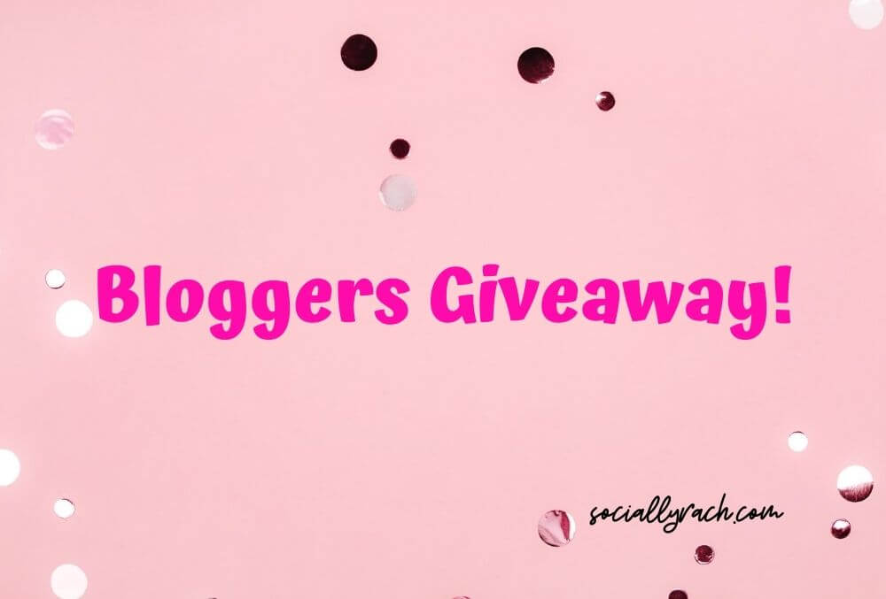 Socially Rach - bloggers giveaway